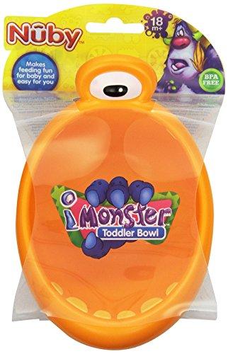 Nuby 22030 iMonster Toddler Bowl