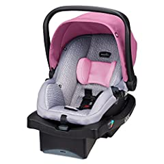 The Evenflo LiteMax 35 Infant Car Seat is an easy-to-install, simple-to-carry, and exceptionally durable child safety seat that continues to offer parents safety and security for their newborn children. The Evenflo LiteMax 35 Infant car seat ...