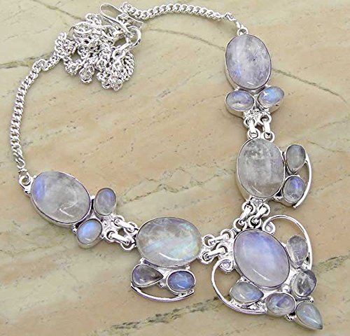 Genuine Moonstone 925 Silver O