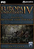 Europa Universalis IV: Colonial British and French Unit Pack [Online Game Code]