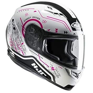 HJC 10190807 Casco de Moto, Safa, Talla S