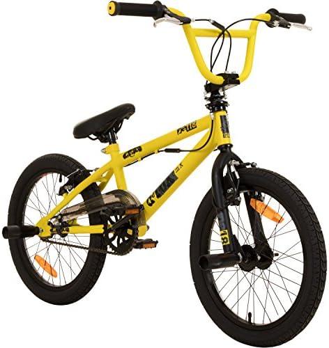 deTOX 18 Zoll BMX Fahrrad Juicy Freestyle mit Pegs 360° Rotor System