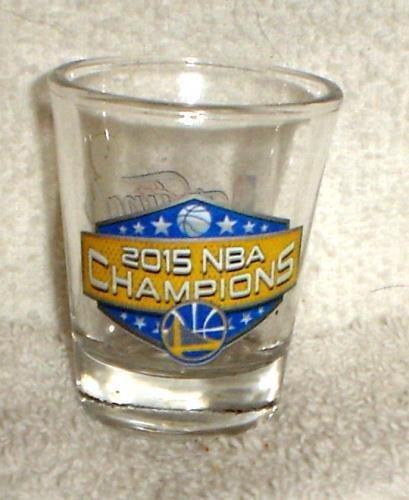 Warriors Champions 2015, 2oz Shot Glass Champions 2 Oz Shot Glass