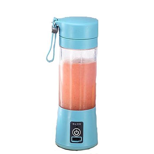 XGLL Batidora De Vaso, Eléctrica USB Licuadora Juice Blender ...
