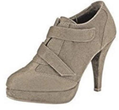Botines Mujer de Microfibra de Andrea Conti: Amazon.es: Zapatos y complementos