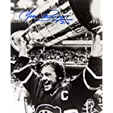 Yvan Cournoyer Autographed 8x10 Photograph (Stanley Cup) - Montreal Canadiens