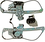 APDTY 852694 Power Window Motor & Regulator Assembly Rear Left Driver-Side Fits 2000-2005 Cadillac Deville (Replaces 10393234, 19244838)