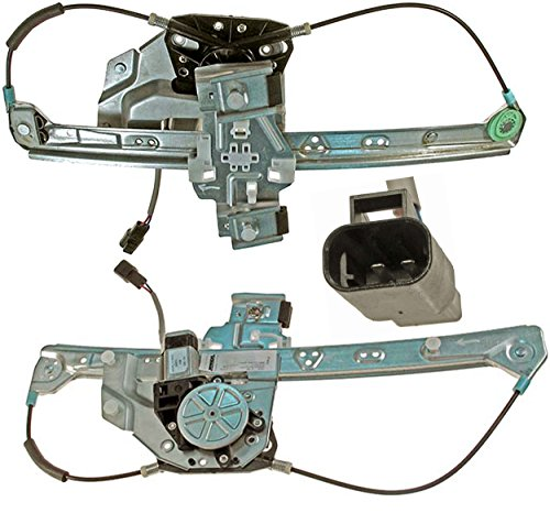 APDTY 852694 Power Window Motor & Regulator Assembly Rear Left (Driver-Side) Fits 2000-2005 Cadillac Deville (Replaces 10393234, 19244838) ()
