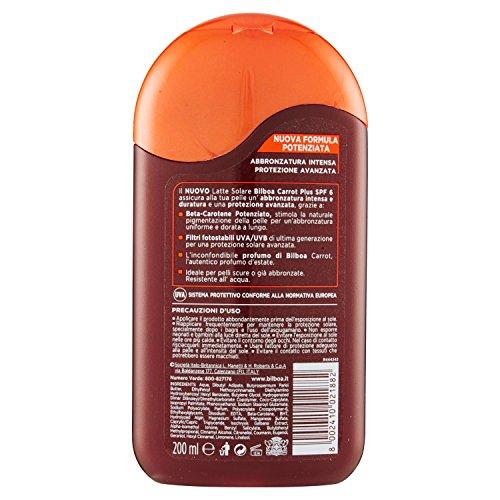 Bilboa Carrot Plus Latte Solare SPF 6-200 ml