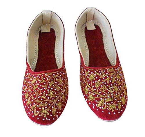 Rouge Red Creations Kalra Ballerines KCW 000358 Femme pour 7wzYT0q