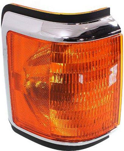 Crash Parts Plus Passenger Side DOT/SAE Corner Light for Ford Bronco, F-Series FO2521106
