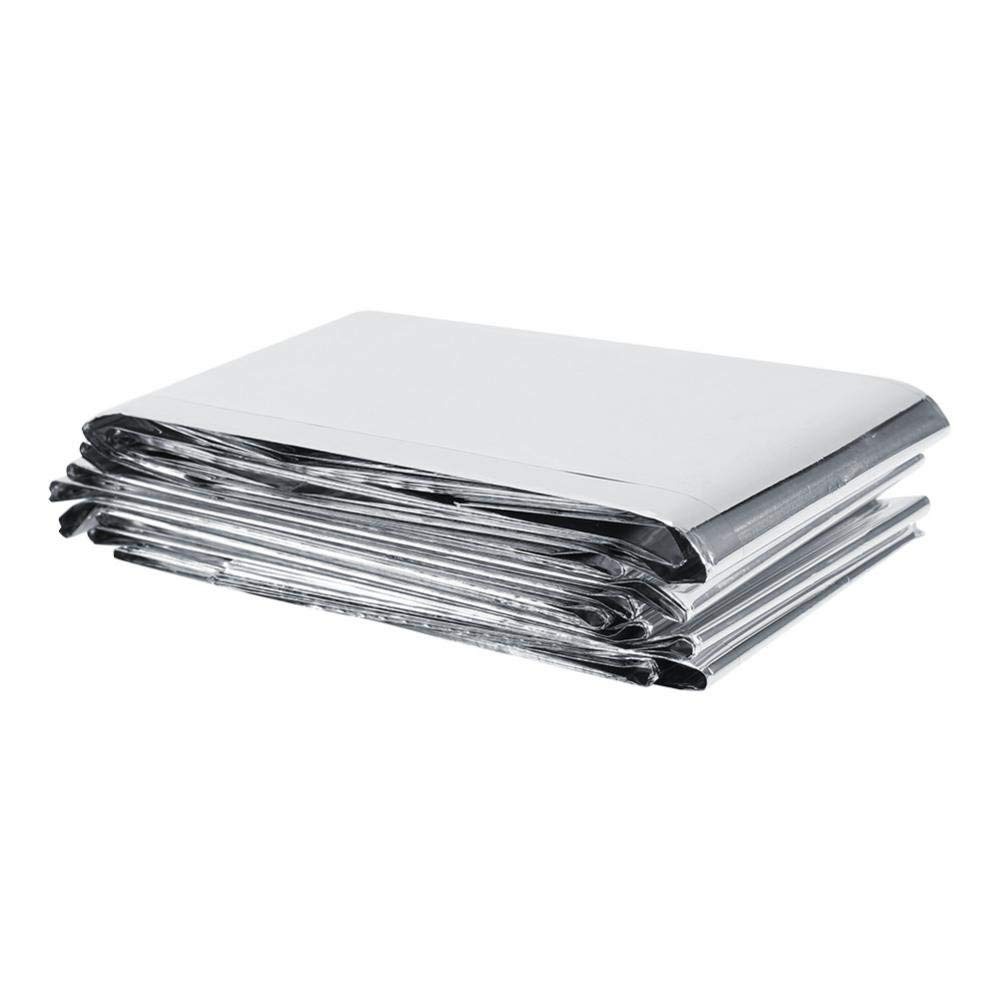 Plant Reflective Film, Silver Plant Reflective Film Garden Greenhouse Grow Light Highly Reflective Covering Sheets for Greenhouse Increasing Temperature Light 210 x 120 cm Zerone