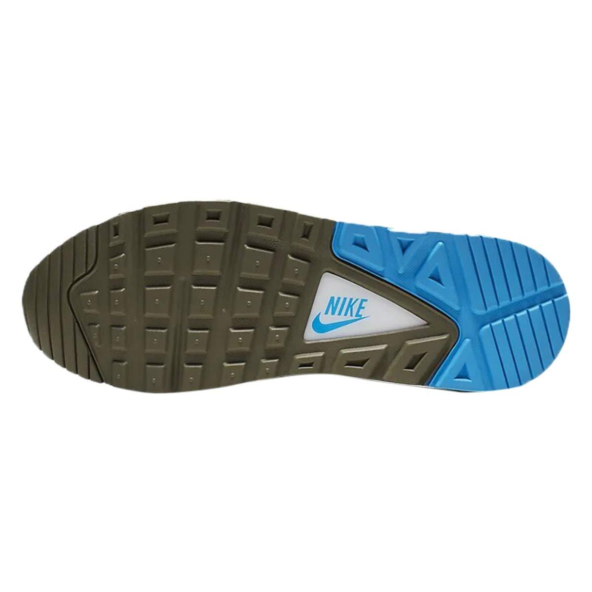 Nike Air MAX Command, Hauszapatos de Trail Running para Hombre MultiColor (blanco Pure Platinum Medium Olive 109)