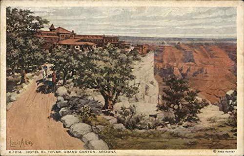 Hotel El Tovar Grand Canyon National Park, Arizona Original Vintage Postcard from CardCow Vintage Postcards