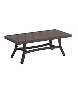 Topsail Outdoor Patio Metal Coffee Table