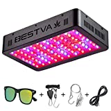 BESTVA 800W LED Grow Light Full Spectrum Grow Lamp with IR&UV for Greenhouse Hydroponic Indoor Plants Veg and Flower