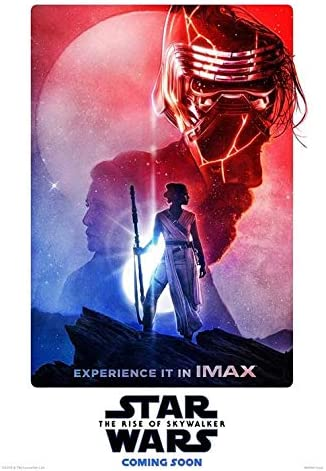 STAR WARS THE RISE OF SKYWALKER 11X17 IMAX MOVIE POSTER DAISY RIDLEY JJ ABRAMS 4