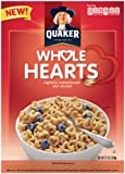 Quaker Whole Hearts Cereal, 12.3-Ounce Boxes (Pack of 7)