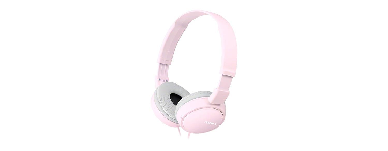 Sony MDR-ZX110 - Auriculares cerrados stereo, rosa + Funda: Amazon.es: Electrónica