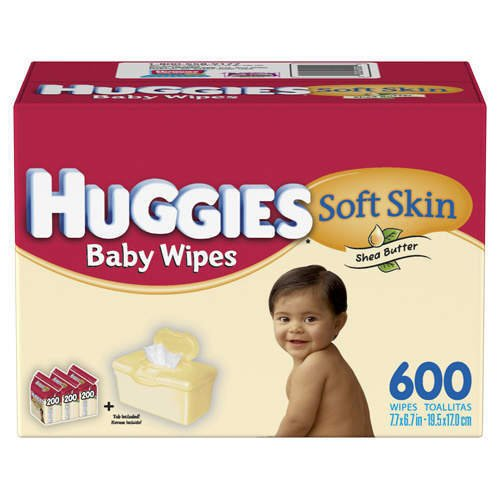 Huggies Soft Skin Butter Wipes