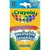 Crayola 8 Washable Crayons