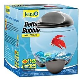 Tetra 29263 Betta Bubble Betta Bowl with Built In LED Light