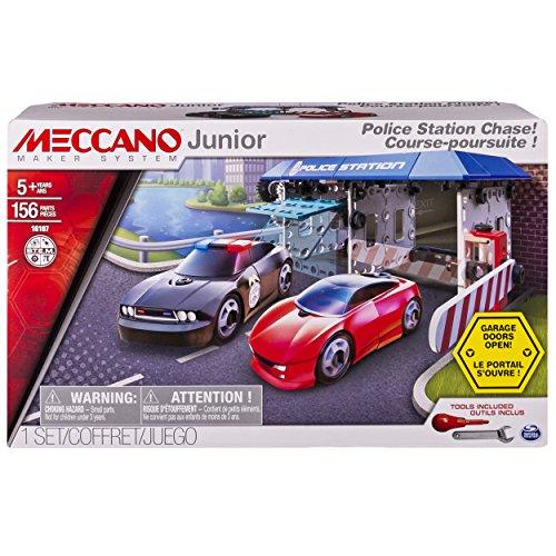 Meccano Junior - Police Station Chase Model Buildi…