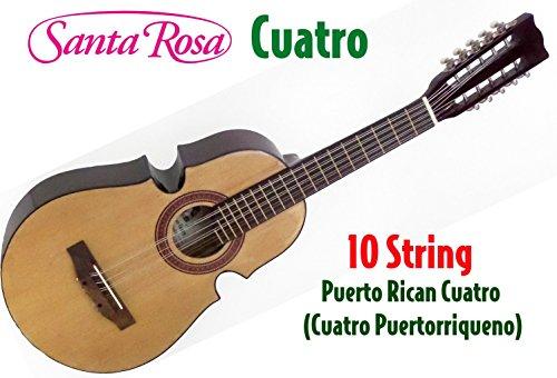Santa Rosa KQ100 Puerto Rican 10 String Cuatro (Cuatro Puertorriqueno) ()