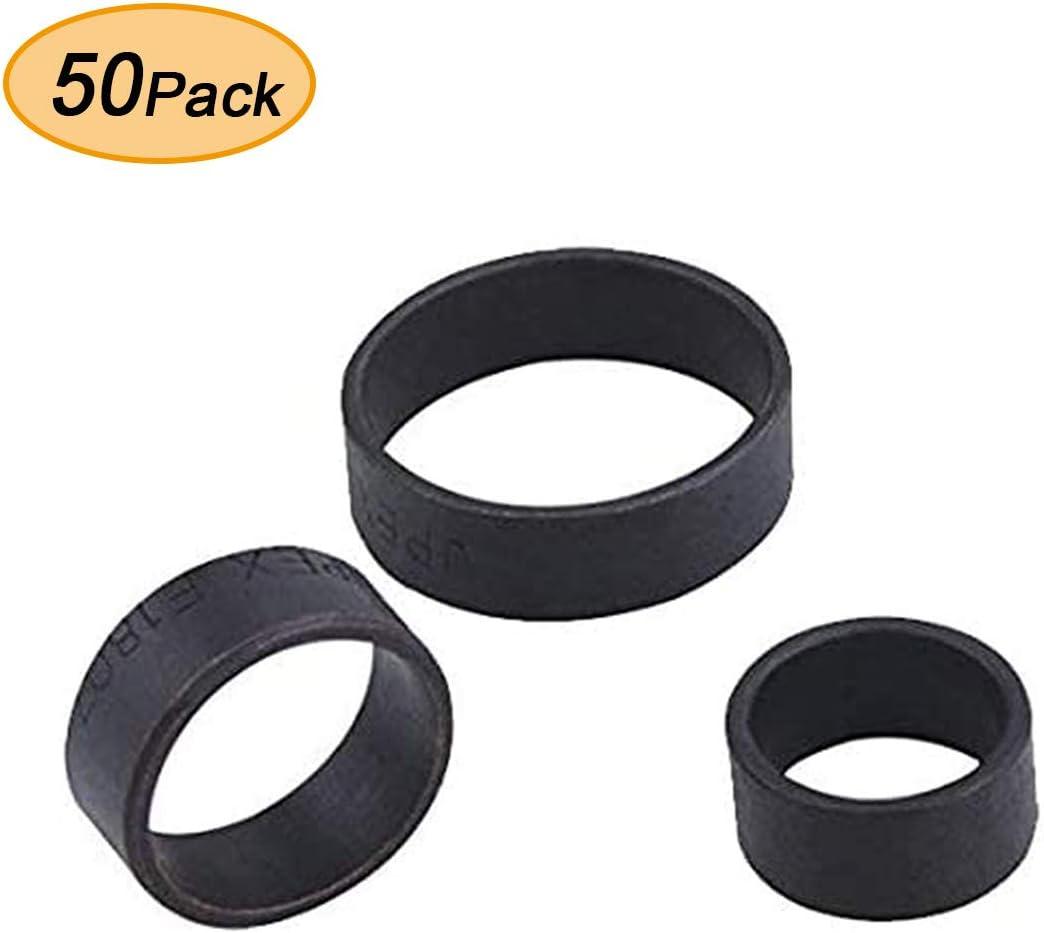 AB 1/2 Inch Pex Pipe Crimp Rings, (50-pack) for Plumbing/Crimp/Barbed Fittings