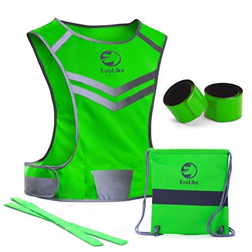 EvoLike Women Reflective Vest of Unique Design for Running...