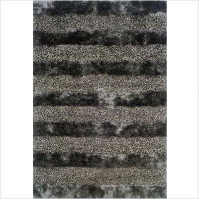 Oriental Weavers Sphinx 115 Platinum Contemporary Rug Fusion Shag Platinum Contemporary Rug Size: 3'6
