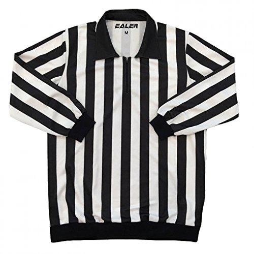 EALER Men's Striped Referee/Umpire Jersey (Large) ()