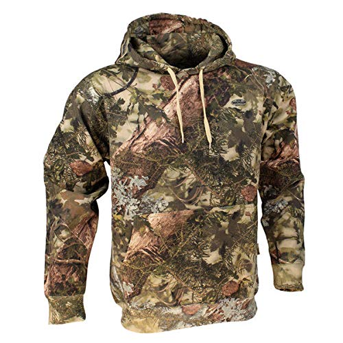 King's Camo Hunter Hoodie-Realtree Edge-2XL