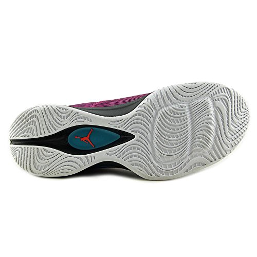 Nike Jordan Mens Jordan Super.fly 3 Basket Sko (uk 9 Oss 10 Eu 44, Fusions Rosa / Elektrisk Orange / Svart / Tropisk Blågrön)