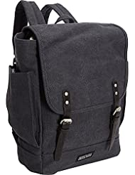 Kenneth Cole Reaction The Day It Used To Be Flapover 14.1 Laptop Rucksack Backpack (Navy)