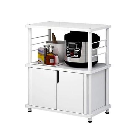 WOYQS Organizador del armario de la cocina, rejilla multifunción ...