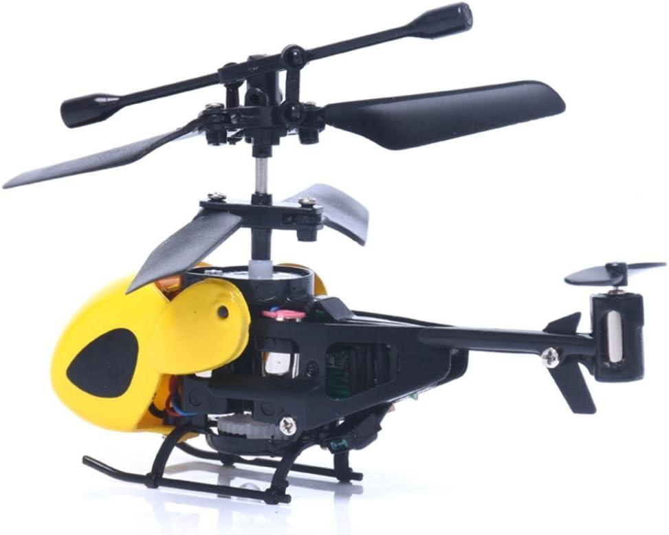 LUCKDE Rc Helikopter Ferngesteuert Mini Drohne 2 Kanal Helikopter Hubschrauber Spielzeug Kinder Quadcopter Drohne Helikopter Ferngesteuert Blau