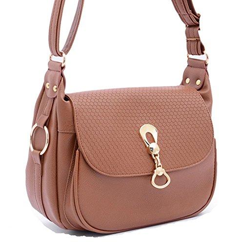 Eysee - bolsas Hobo Mujer marrón claro