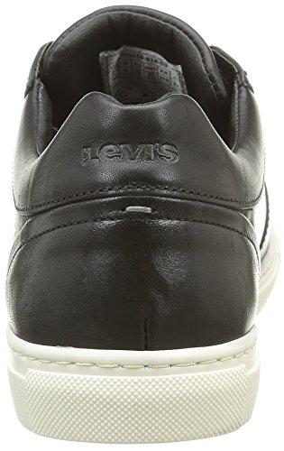 Noir Black Negro Derby Perris Levi'S Regular Hombre para Zapatillas w8x6BY