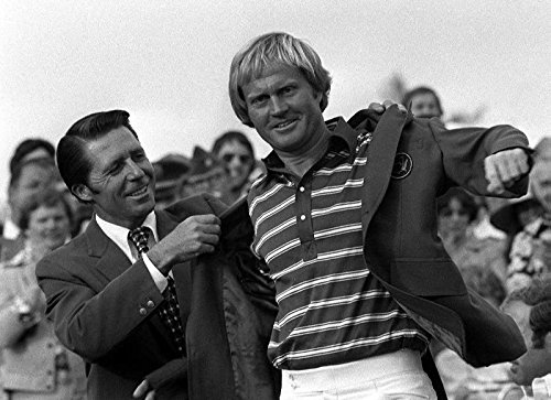 Nicklaus Photo (Jack Nicklaus Wins 4th Masters T Shirt Iron On 8 x 10 Photo)