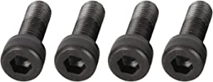 Scooter Engine Screws Set, 4 Pieces, Black