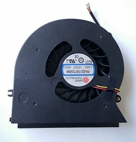 LRHKF New laptop CPU Cooling Fan for MSI GT72 PABD19735BM 3pin 0.65A 12VDC