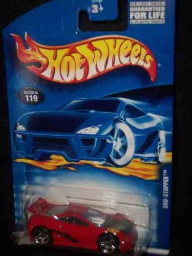 (#2001-119 Sho-Stopper Seared Tuner Base Malaysia Collectible Collector Car Mattel Hot Wheels 1:64 Scale)