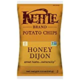 Kettle Brand Potato Chips, Honey Dijon, 8.5 Ounce Bags (Pack of 12)