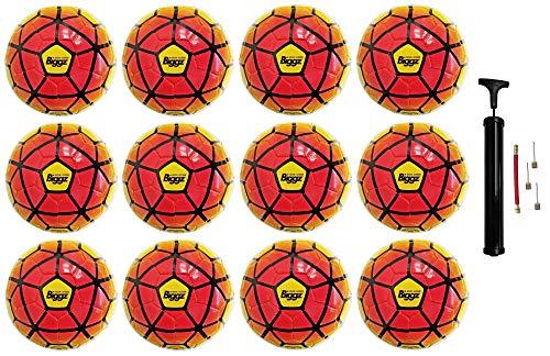 (Pack of 12) Soccer Balls Size 5 Bulk Wholesale Durable
