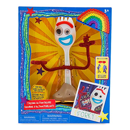 Disney Pixar Toy Story 4 - Forky Interactive Talking Action Figure - 7 ¼ Inches