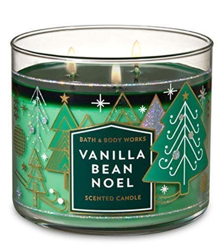Bath and Body Works Vanilla Bean Noel 2018 Candle (Noel Candle)