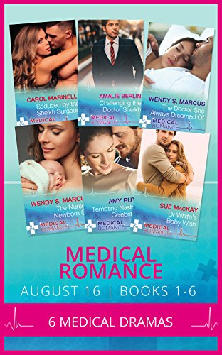 book cover of Medical Romance August 2016 Books 1-6