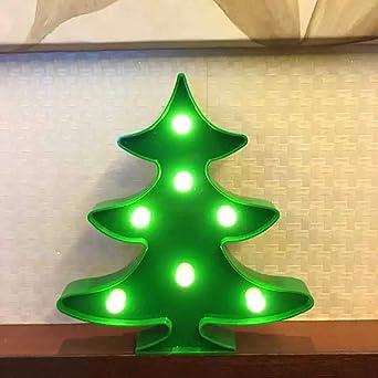 Weihnachtsbeleuchtung Tannenbaum Innen.Mini Weihnachtsbaum Geformte Led Licht Batteriebetrieben Innen Und