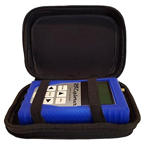RF Explorer 6G Combo with Blue EVA Case + Blue Protection Boot by EMR Shielding Solutions